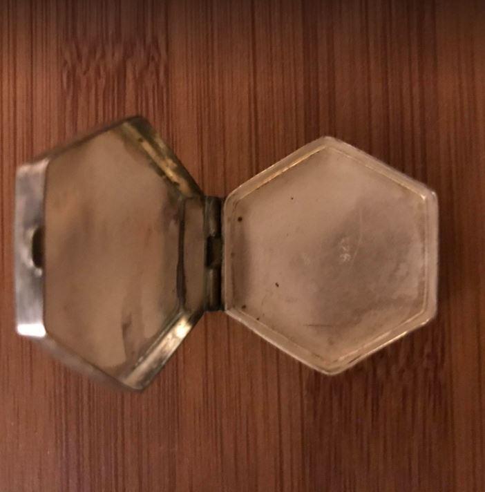 Arve smykker pillesæke i sølv
